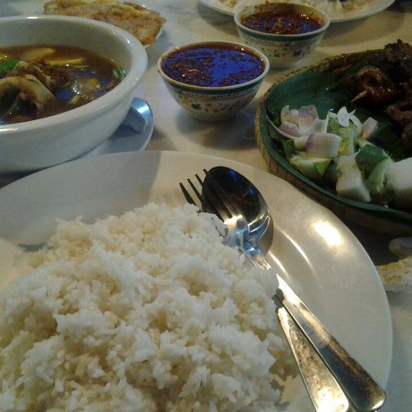Foto tomada en Satay Station Original satay Recipe por NA J. el 12/12/2013