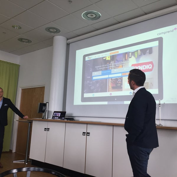 Photo taken at Hallvarsson & Halvarsson by Karin B. on 3/8/2016