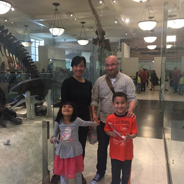 Photo taken at David H. Koch Dinosaur Wing by Francisco E. on 4/9/2017