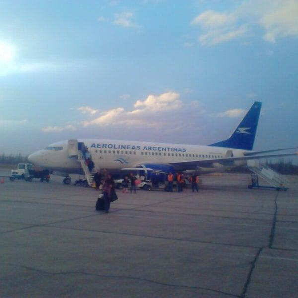 Foto tomada en Aeropuerto Internacional del Neuquén - Presidente Juan D. Perón (NQN) por Villanueva E. el 8/6/2013