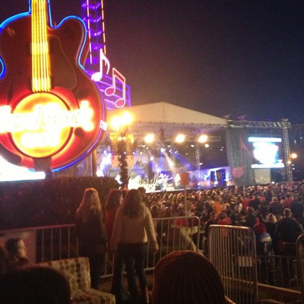 Photo taken at Hard Rock Cafe Nashville by Bailey C. on 12/31/2012