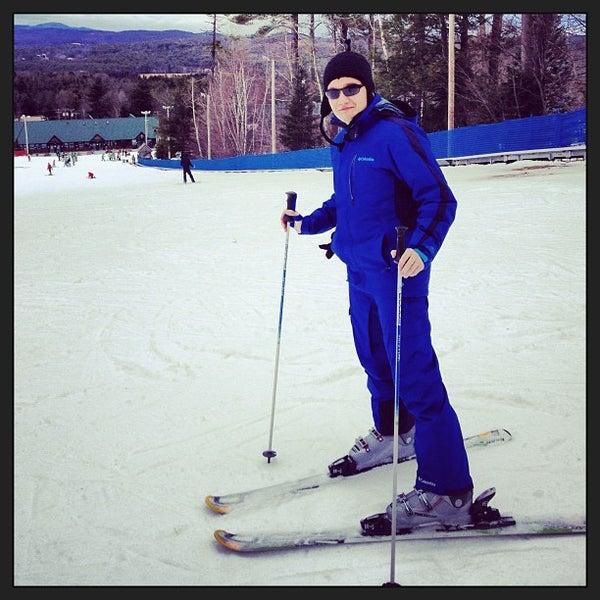 Photo taken at Pat's Peak Ski Area by Simon S. on 12/22/2012