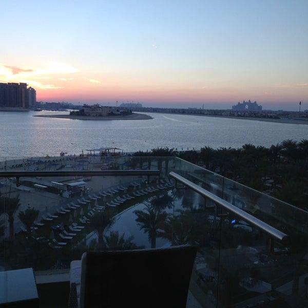 2/8/2013 tarihinde Mohammedziyaretçi tarafından Rixos The Palm Dubai'de çekilen fotoğraf