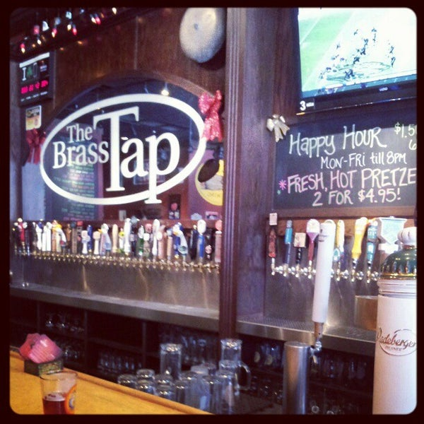 The brass tap tips from visitors
