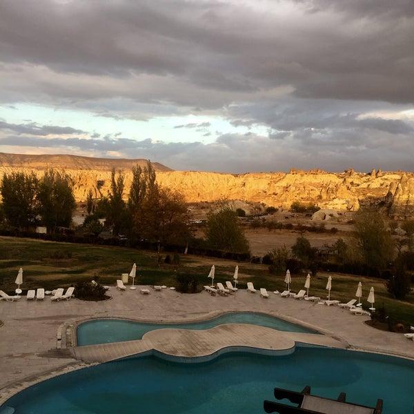 10/28/2017 tarihinde Yesim A.ziyaretçi tarafından Tourist Hotels & Resorts Cappadocia'de çekilen fotoğraf