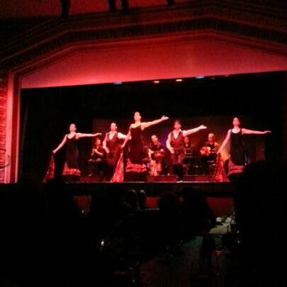 Photo taken at Palacio del Flamenco by Bhdr ✏. on 12/30/2012