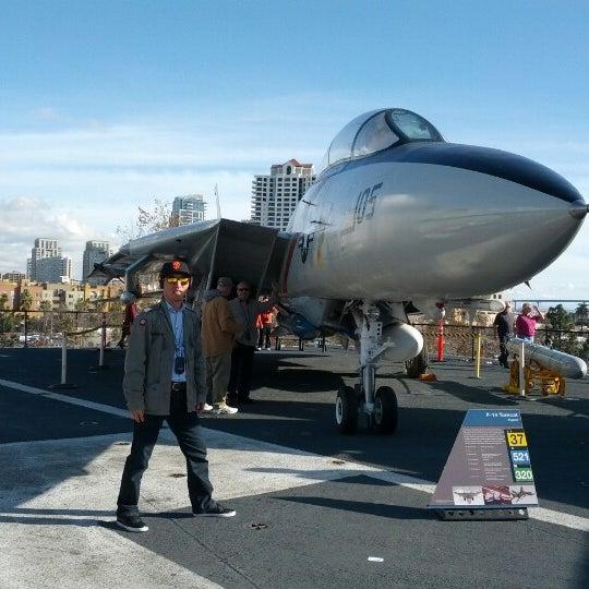 Photo taken at USS Midway Museum by Jongeon K. on 12/23/2012