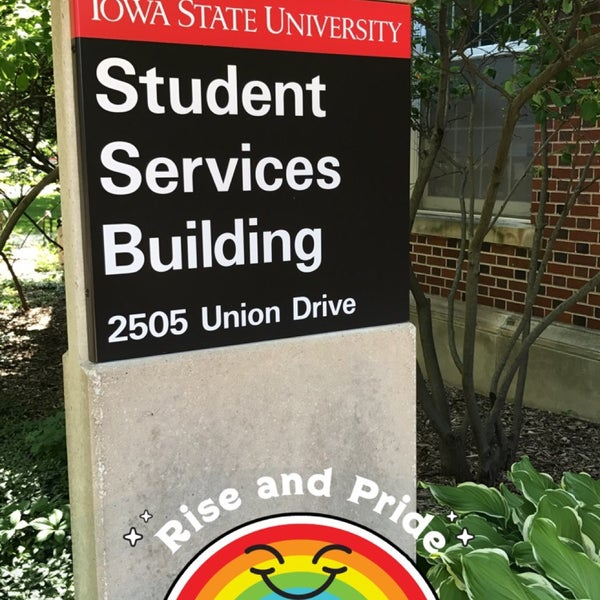 Photo taken at LGBT Student Services by BJ F. on 6/19/2017