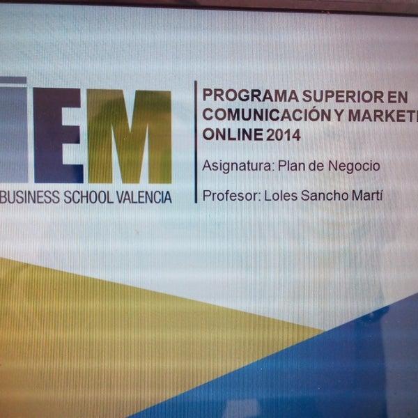 Foto tomada en IEM Business School por Loles S. el 5/29/2014