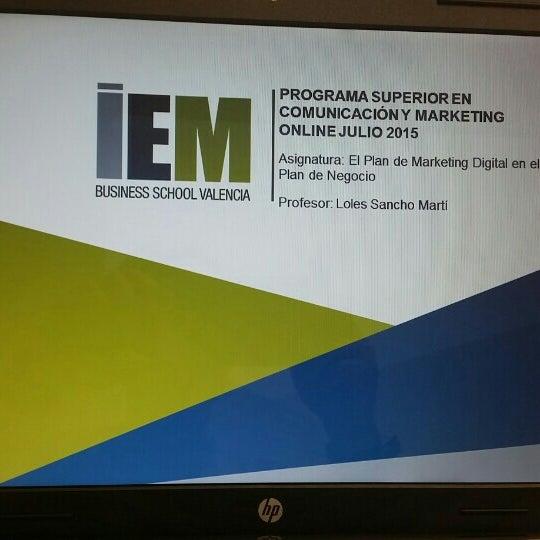 Foto tomada en IEM Business School por Loles S. el 7/25/2015
