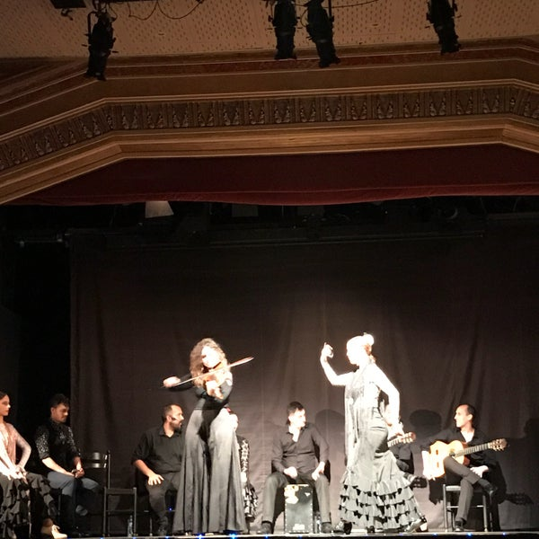 Photo taken at Palacio del Flamenco by İnci İ. on 5/1/2017