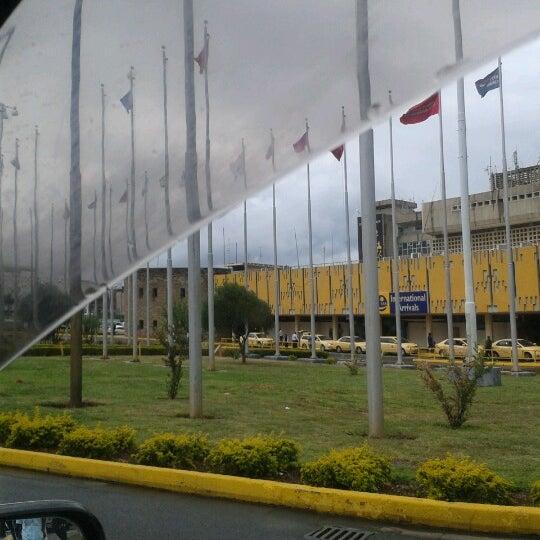 Photo taken at Jomo Kenyatta International Airport (NBO) by Ian M. on 12/2/2012