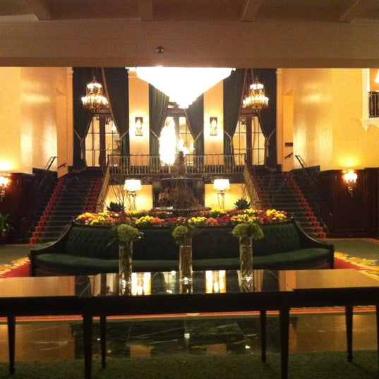 Photo taken at Amway Grand Plaza Hotel by Angie P. on 11/17/2012