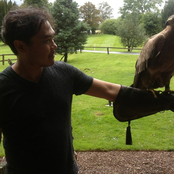 Photo Taken At Dalhousie Castle Falconry Centre By David L On 8 15