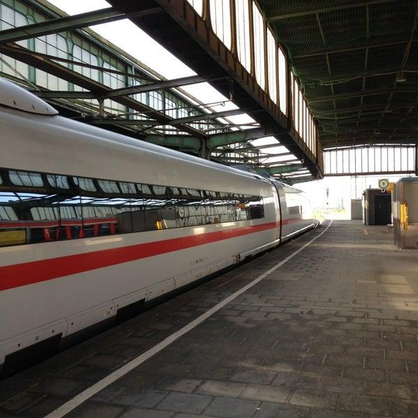 Photo taken at Duisburg Hauptbahnhof by Justin H. on 6/18/2013