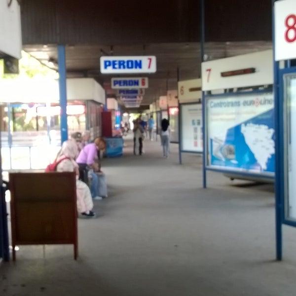 Photo taken at Autobusna stanica by Burak K. on 7/2/2015