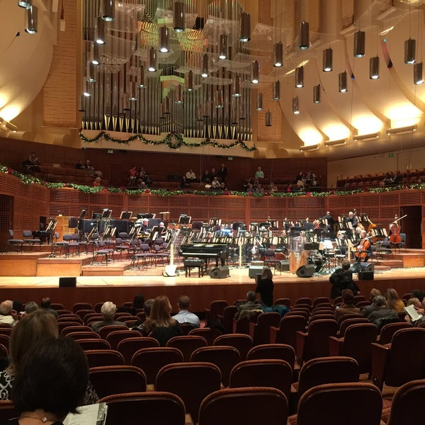 Photo taken at Louise M. Davies Symphony Hall by Eryn W. on 12/6/2014