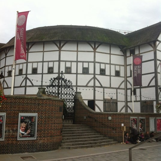 Photo taken at Shakespeare's Globe Theatre by Brandy on 10/3/2012