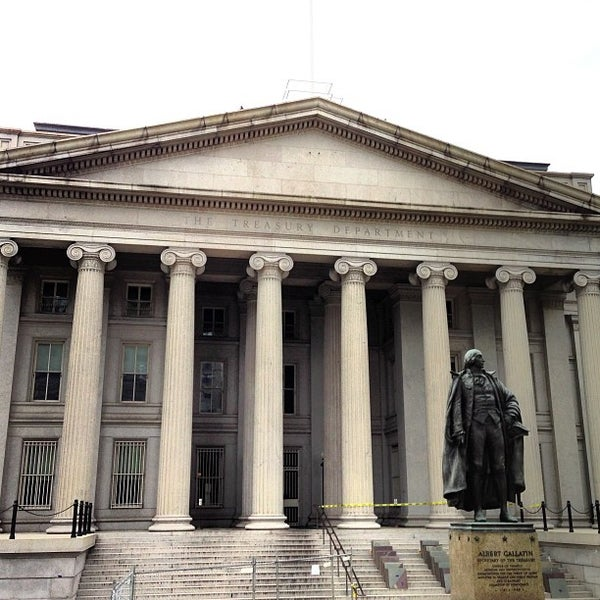 Photo taken at US Department of the Treasury by Feras M. on 4/28/2013
