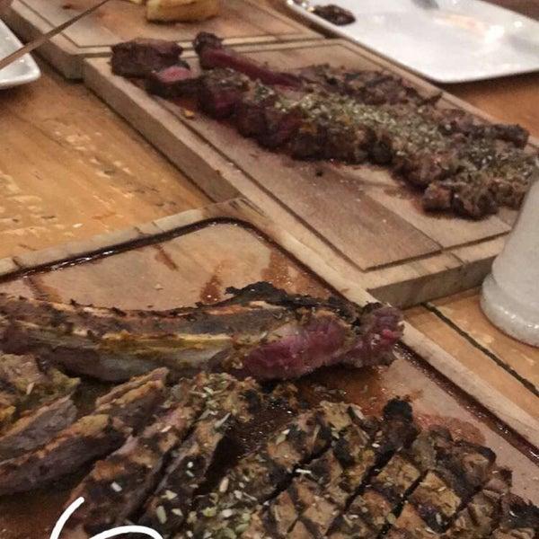 10/14/2018 tarihinde Cihat C.ziyaretçi tarafından Assado Steak House'de çekilen fotoğraf