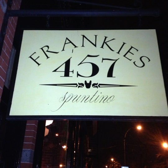Photo taken at Frankies 457 Spuntino by Mitchell C. on 12/12/2012