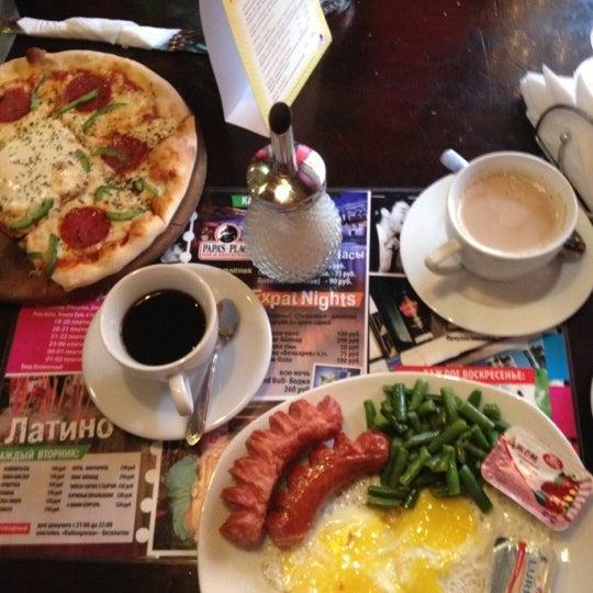 Снимок сделан в Papa's Bar & Grill пользователем Елена Б. 3/16/2013