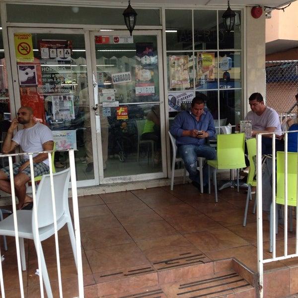 Photo taken at Panadería Los Venezolanos by Diógenes C. on 10/20/2013