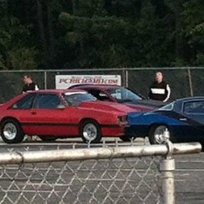 Photo taken at Atco Raceway by  Joann H. on 9/25/2012