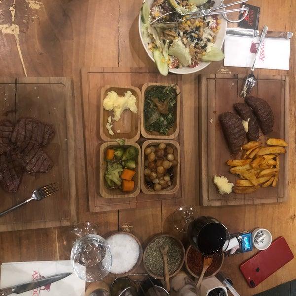 9/20/2018 tarihinde Hacer A.ziyaretçi tarafından Assado Steak House'de çekilen fotoğraf