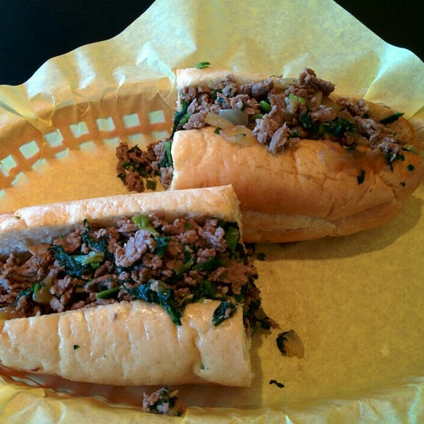 Photo taken at Frankie's South Philly Cheesesteaks and Hoagies by sunny on 6/6/2015