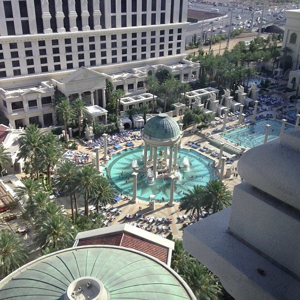 Photo taken at Caesars Palace Hotel & Casino by Chris D. on 7/26/2013