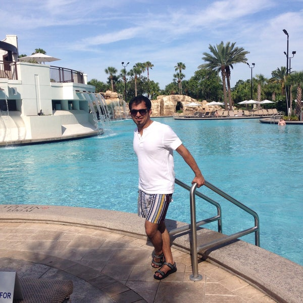 Photo taken at Marriott World Center Pool by Suraj A. on 6/10/2015