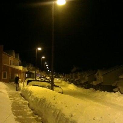 Снимок сделан в Рабочий поселок Зима пользователем lena p. 1/2/2013