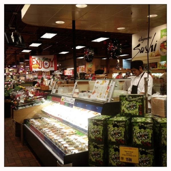 Wegmans supermarket for Food bar wegmans