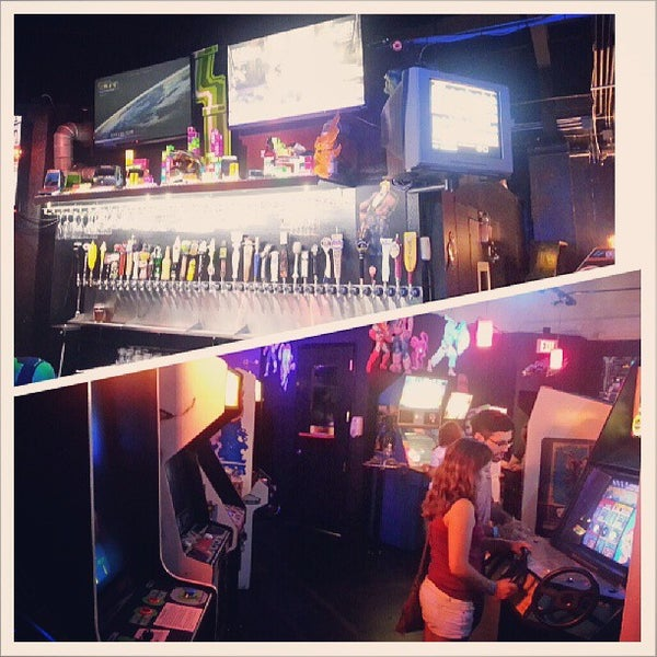 Photo taken at Player 1 Video Game Bar by Andrew C. on 8/1/2013