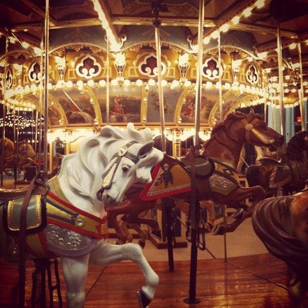 Photo taken at Jane's Carousel by Derek V. on 11/30/2012