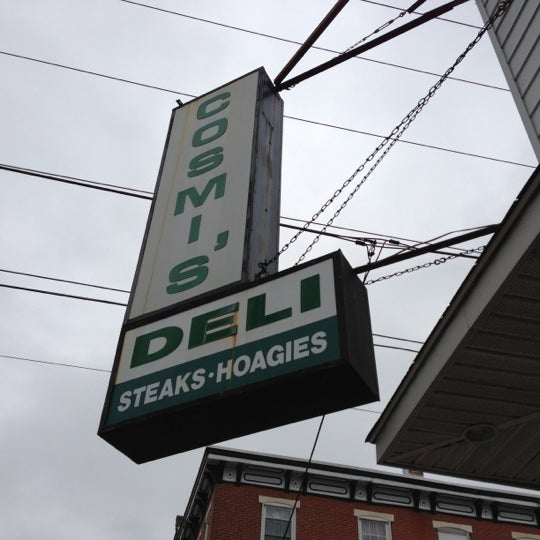 Photo taken at Cosmi's Deli by Brooks B. on 10/26/2012