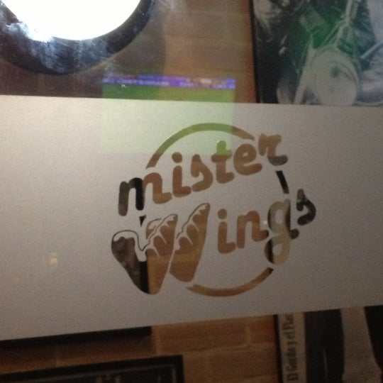 Photo taken at Mister Wings by Monica D. on 11/11/2012