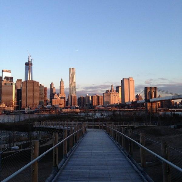 Photo taken at Brooklyn Bridge Park by Zane on 3/22/2013