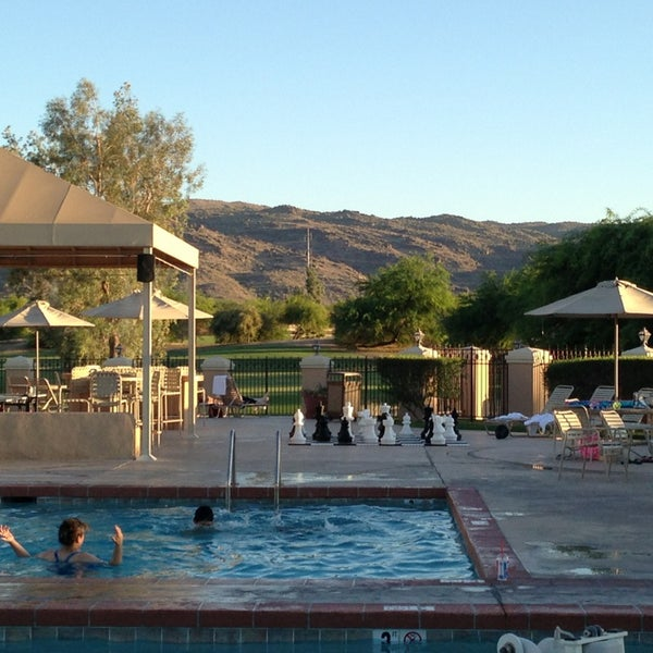 Photo taken at Legacy Golf Resort Poolside by Stephen G. on 6/18/2013