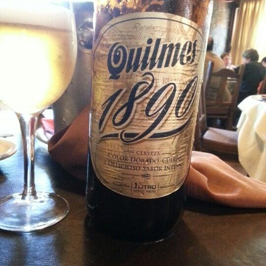 Restaurante muito bom, atendimento e pratos de primeira. A Quilmes Especial acompanha bem os pratos.