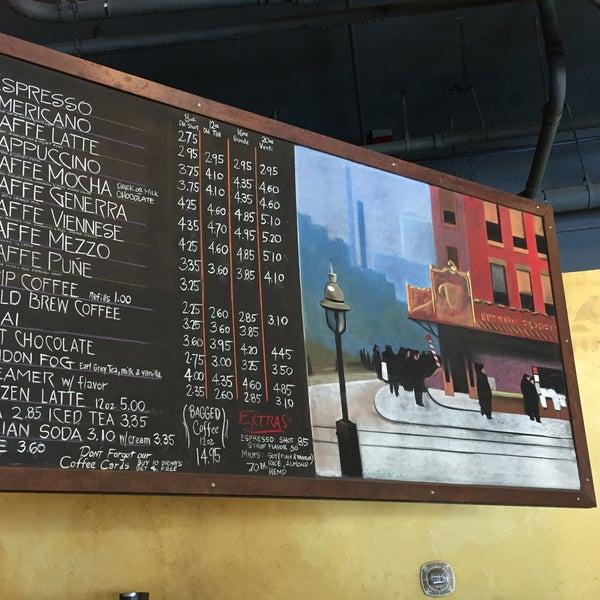 Photo taken at Uptown Espresso by Joe F. on 7/28/2017
