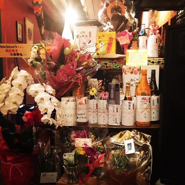 9月24日土曜と25日日曜両日『tamutamucafe 6th Anniversary Party!』にお越し頂きありがとうございました❗️沢山の人達にタムタムカフェの6周年を祝って頂き、本当に幸せでした🙏最高のDJとアーティストのお友達に盛り上げて頂き、沢山のお客さんのおめでとうの声で、本当に最高の7年目に突入です⚡️⚡️⚡️これからも精進しますのでタムタムカフェをよろしくお願いします😙