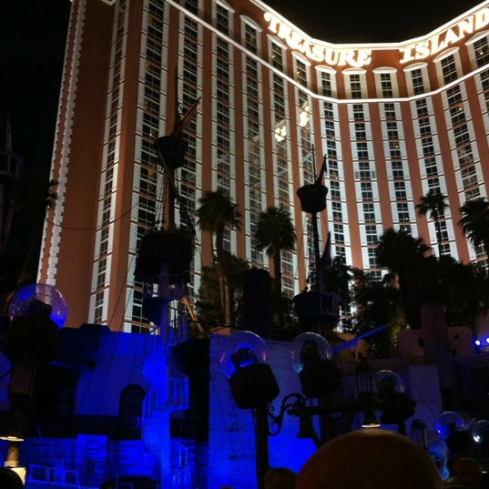 Photo taken at Treasure Island - TI Hotel & Casino by Joel G. on 9/30/2012