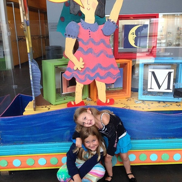 Photo taken at Long Island Children's Museum by Andrew B. on 7/13/2014