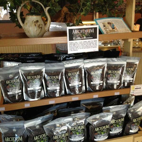 Photo taken at Arcedium Coffeehouse Inc by Jason P. on 8/9/2013