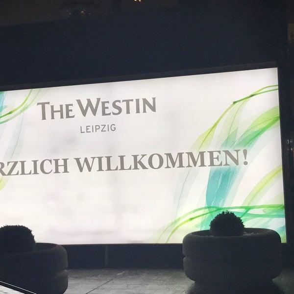 Das Foto wurde bei The Westin Leipzig von Nico B. am 1/26/2017 aufgenommen