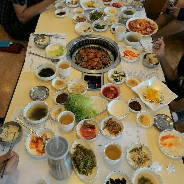 Photo taken at Daorae Korean BBQ Restaurant by Melanie on 10/9/2015