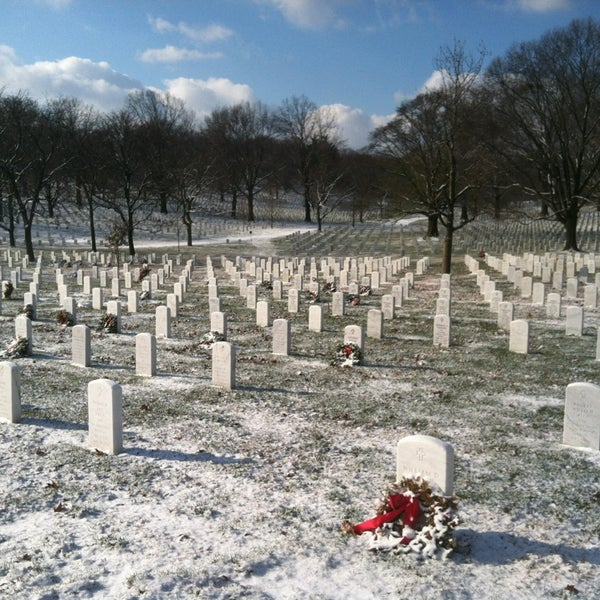 Photo taken at Arlington National Cemetery by Andrew R. on 1/24/2013