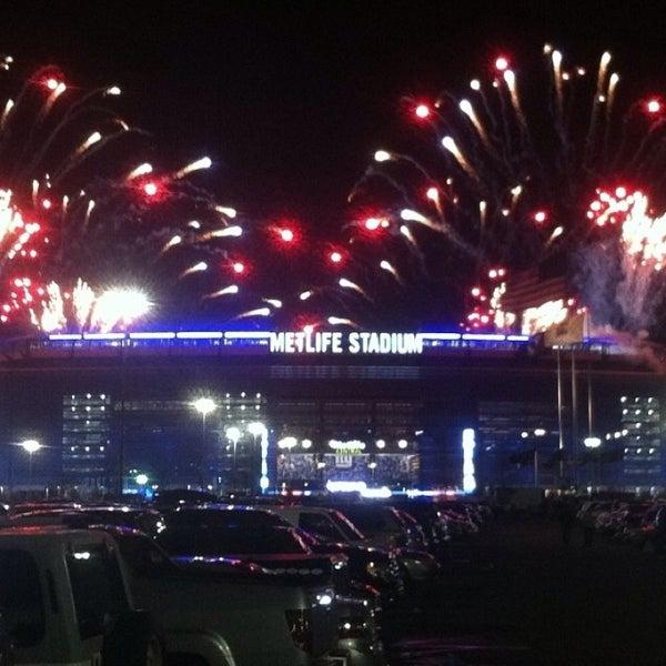 Photo taken at MetLife Stadium by Anita on 10/22/2013